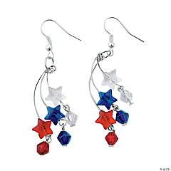 Patriotic Stars Earrings Craft Kit