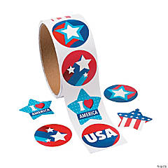 Patriotic Stickers