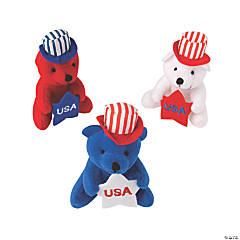 Patriotic Stuffed Bears