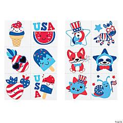 Patriotic Tattoo Assortment