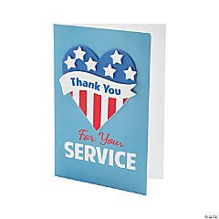 Patriotic Thank You Card Craft Kit