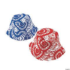 Patriotic Tie-Dyed Bucket Hats