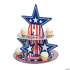 Patriotic Treat Stand