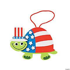 Patriotic Turtle Ornament Craft Kit