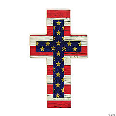 Patriotic Wall Cross