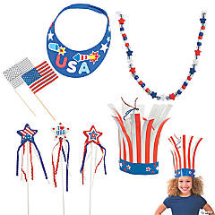 Patriotic Wearables Craft Kit for 12