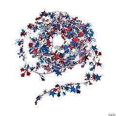 Patriotic Wire Star Garland