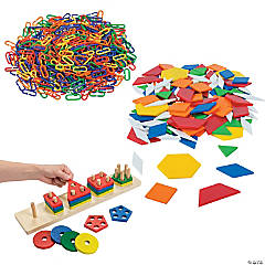 Pattern & Puzzle At-Home Learning Kit