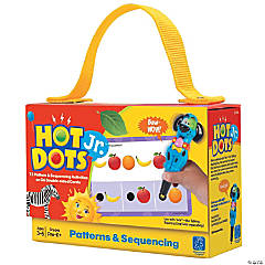 Patterns & Sequencing Hot Dots® Jr. Card Set