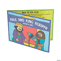 Paul & King Agrippa Activity Sheets