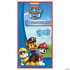 PAW Patrol™ Valentines with Scented Bookmarks