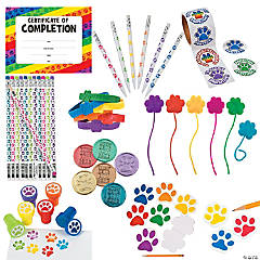 Paw Print Handouts Kit for 24