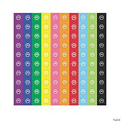 Paw Prints Mini Stickers