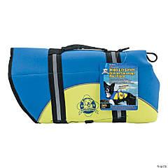Paws Aboard Neoprene Doggy Life Jacket Large-Blue & Yellow