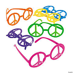 Peace Sign Eyeglasses