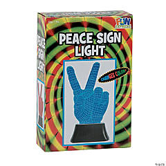 Peace Sign Illusion Light