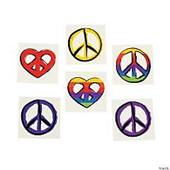 Peace Sign Tattoos
