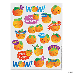 Peach-Scented Stickers