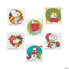 Peanuts® Christmas Tattoos