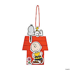 Peanuts® Craft Stick Snoopy House Craft Kit