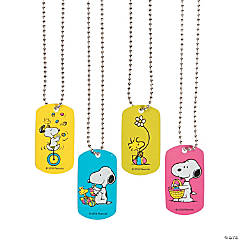 Peanuts® Easter Dog Tag Necklaces