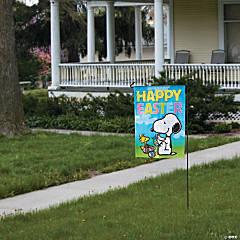 Peanuts® Easter Garden Flag