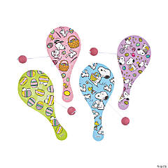 Peanuts® Easter Paddleball Games