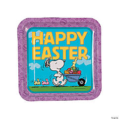 Peanuts® Easter Paper Dinner Plates