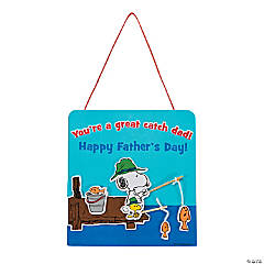 Peanuts® Father's Day Sign Craft Kit