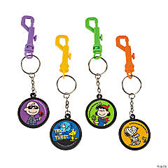 Peanuts® Halloween Backpack Clip Keychains