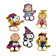 peanuts halloween finger puppets