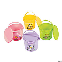Peanuts® Inspirational Pails with Lid