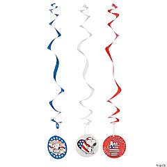 Peanuts® Patriotic Hanging Swirls