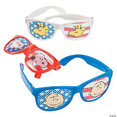 Peanuts® Patriotic Pinhole Glasses