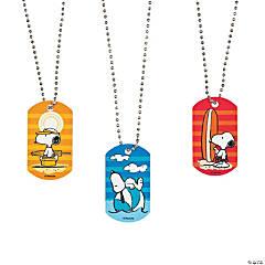 Peanuts® Summer Dog Tag Necklaces