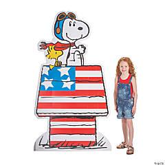 Peanuts® Patriotic Cardboard Stand-Up