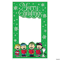 Peanuts<sup>®</sup> Christmas Photo Booth Frame