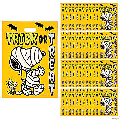 Peanuts<sup>®</sup> Snoopy Halloween Trick-Or-Treat Goody Bags
