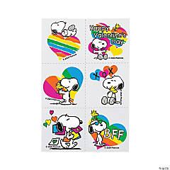 Peanuts<sup>®</sup> Valentine Rainbow Tattoos
