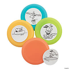 Peanuts® Color Your Own Summer Mini Flying Discs