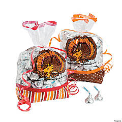 Peanuts® Thanksgiving Cellophane Bags