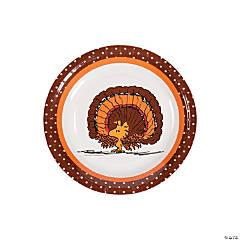 Peanuts® Thanksgiving Paper Dessert Plates - 8 Ct.
