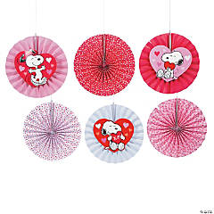 Peanuts® Valentine Hanging Fans