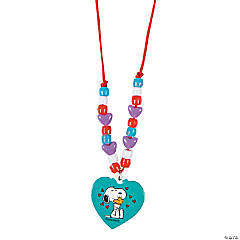 Peanuts® Valentine Necklace Craft Kit