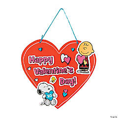 Peanuts® Valentine Sign Craft Kit
