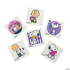 Peanuts® Valentine Tattoos