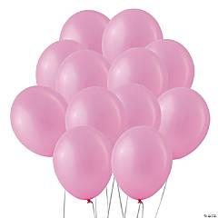 "Pearl Pink 11"" Latex Balloons"