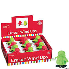 Penguin Eraser Wind-Up Toys