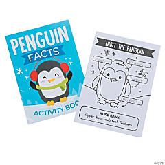 Penguin Facts Activity Books