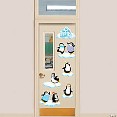 Penguin Religious Door Décor Set